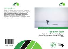 Bookcover of Ice Stock Sport