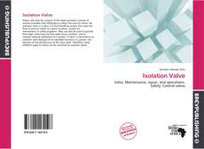 Bookcover of Isolation Valve