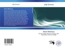 Bookcover of Henri Michaux