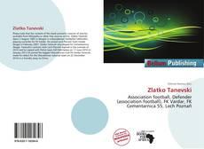 Bookcover of Zlatko Tanevski