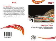 Bookcover of William Caffyn