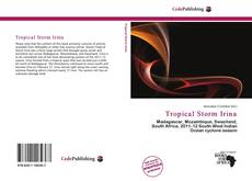 Couverture de Tropical Storm Irina