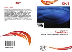 Bookcover of David Colley