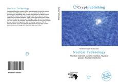 Bookcover of Nuclear Technology