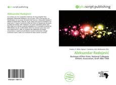 Portada del libro de Aleksandar Radojević