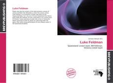 Copertina di Luke Feldman