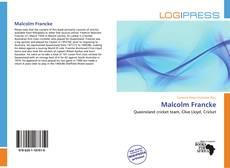 Portada del libro de Malcolm Francke