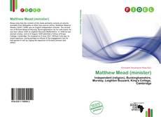 Portada del libro de Matthew Mead (minister)