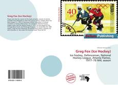 Portada del libro de Greg Fox (Ice Hockey)