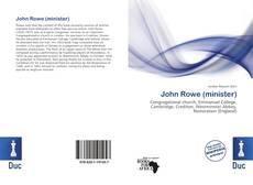 Portada del libro de John Rowe (minister)