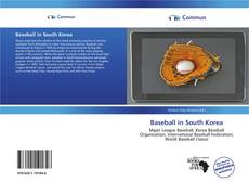 Bookcover of Baseball in South Korea
