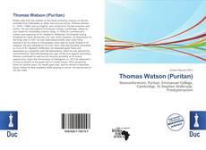 Bookcover of Thomas Watson (Puritan)
