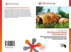 Bookcover of 12U Baseball World Championship