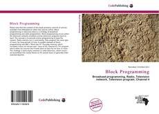 Couverture de Block Programming