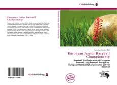 Обложка European Junior Baseball Championship