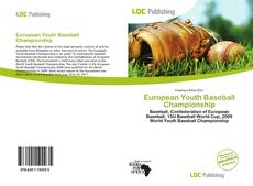 Bookcover of European Youth Baseball Championship