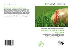 Bookcover of Baseball at the Summer Olympics