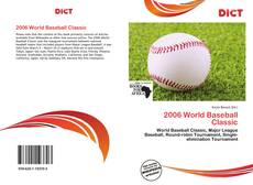 Bookcover of 2006 World Baseball Classic