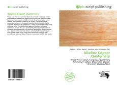 Bookcover of Alkaline Copper Quaternary