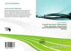 Buchcover von Local-access Television