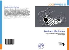 Bookcover of Loudness Monitoring