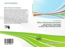 Portada del libro de Oliver Heywood (minister)