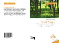 Capa do livro de Forest Product
