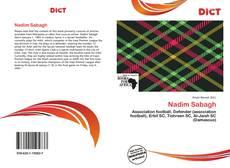 Nadim Sabagh kitap kapağı