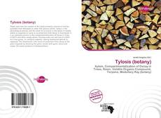 Bookcover of Tylosis (botany)