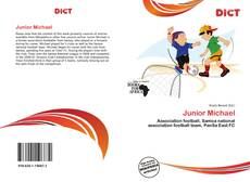 Junior Michael kitap kapağı