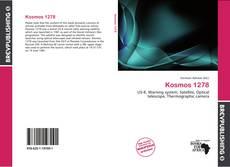 Capa do livro de Kosmos 1278