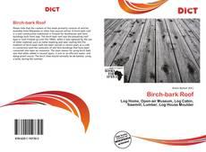 Обложка Birch-bark Roof