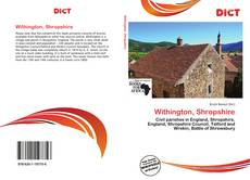 Bookcover of Withington, Shropshire