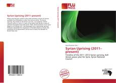 Buchcover von Syrian Uprising (2011–present)