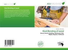Buchcover von Heat Bending of wood
