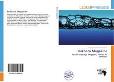 Capa do livro de Bukhara Magazine