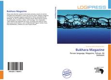 Bukhara Magazine kitap kapağı