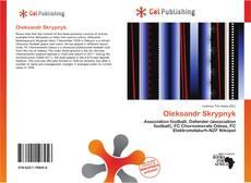 Oleksandr Skrypnyk kitap kapağı