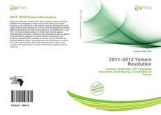 Capa do livro de 2011–2012 Yemeni Revolution
