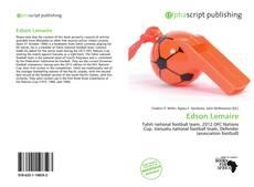 Capa do livro de Edson Lemaire