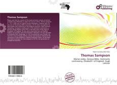 Обложка Thomas Sampson