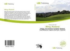 Buchcover von Wing, Rutland