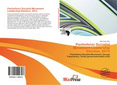 Bookcover of Panhellenic Socialist Movement Leadership Election, 2012