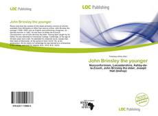 Bookcover of John Brinsley the younger