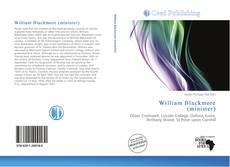 Portada del libro de William Blackmore (minister)