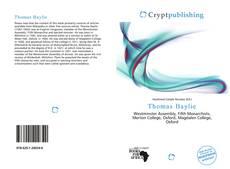 Thomas Baylie kitap kapağı