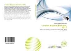 London Mayoral Election, 2012 kitap kapağı