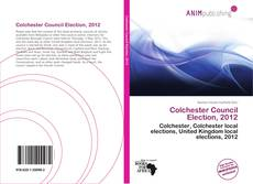 Colchester Council Election, 2012的封面