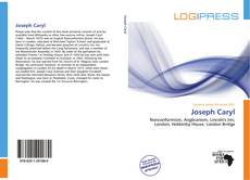 Bookcover of Joseph Caryl