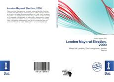 London Mayoral Election, 2000 kitap kapağı